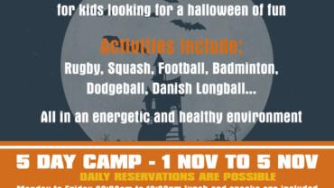 Halloween Sports Camp 2021